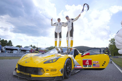 Race winner #4 Corvette Racing Chevrolet Corvette C7.R: Oliver Gavin, Tommy Milner