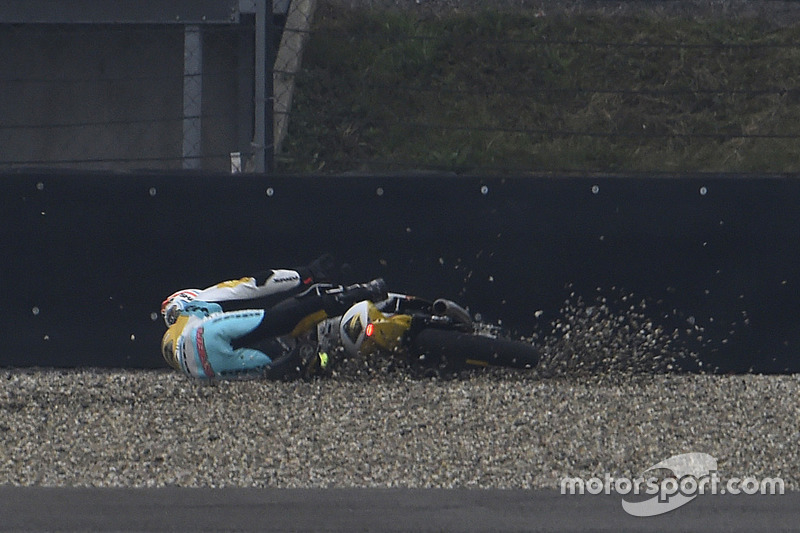 Gabriel Rodrigo, RBA Racing Team crash