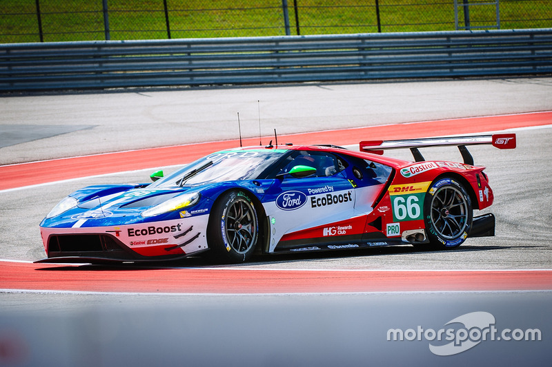 #66 Ford Chip Ganassi Racing Team UK Ford GT: Olivier Pla, Stefan Mücke