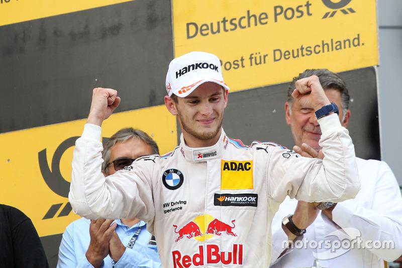 Podium: Race winner Marco Wittmann, BMW Team RMG, BMW M4 DTM