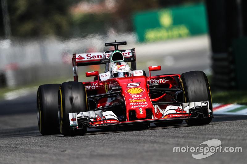 3. Sebastian Vettel, Ferrari SF16-H