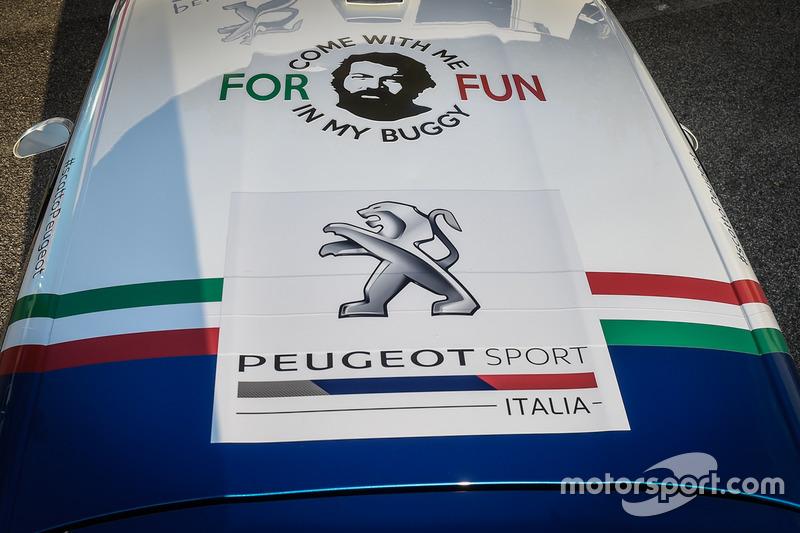 Paolo Andreucci e Anna Andreussi, Peugeot 208 T16, con Giuseppe Testa e Daniele Mangiarotti Peugeot