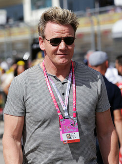 Gordon Ramsey, Celebrity Chef on the grid