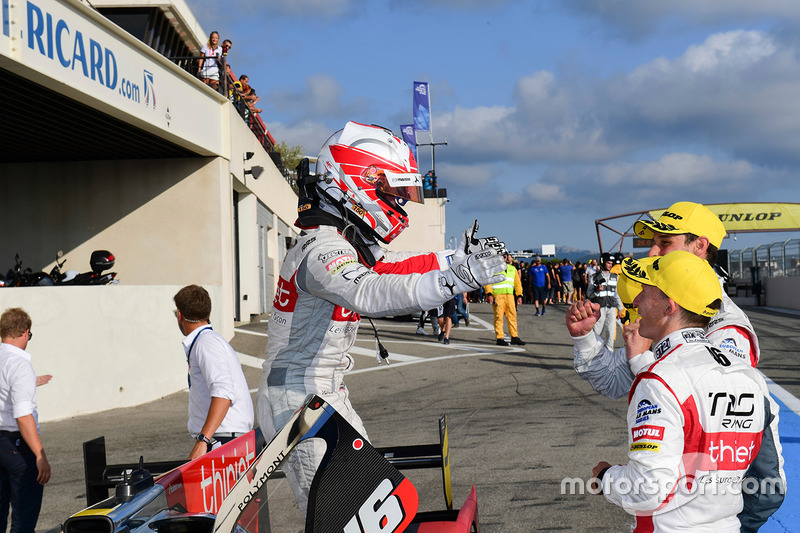 I vincitori della gara #46 Thiriet by TDS Racing Oreca 05 - Nissan: Pierre Thiriet, Mathias Beche, Mike Conway
