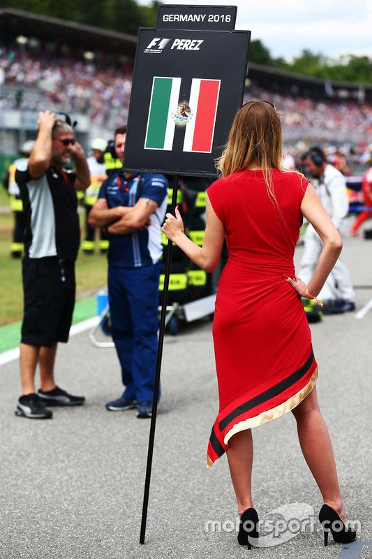 Грід-гьол для Серхіо Переса, Sahara Force India F1