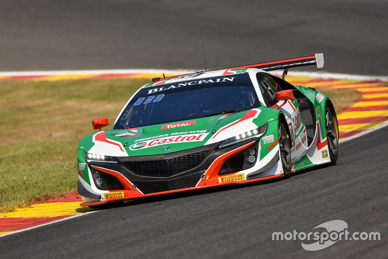 jenson button to race honda nsx gt3 in blancpain series. Black Bedroom Furniture Sets. Home Design Ideas