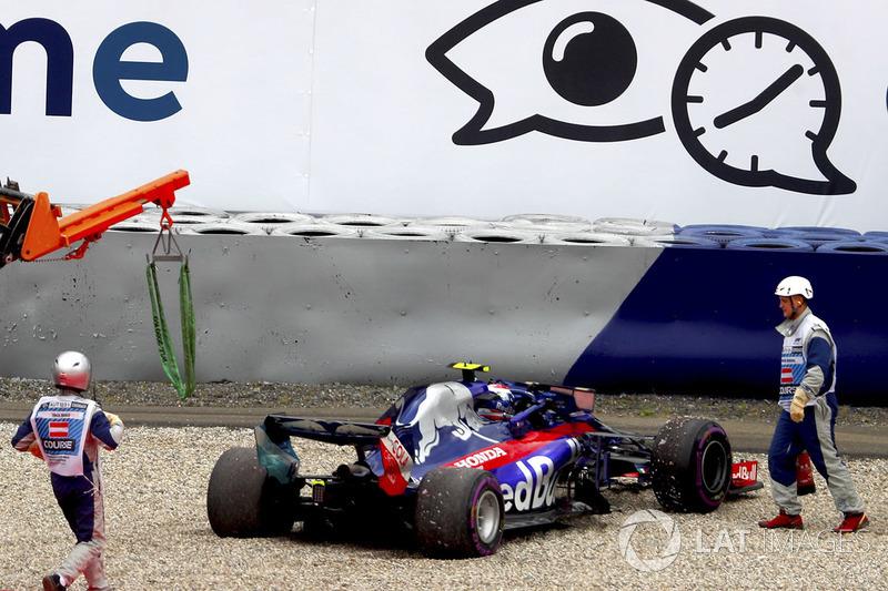 Маршали, П'єр Гаслі, Toro Rosso STR13