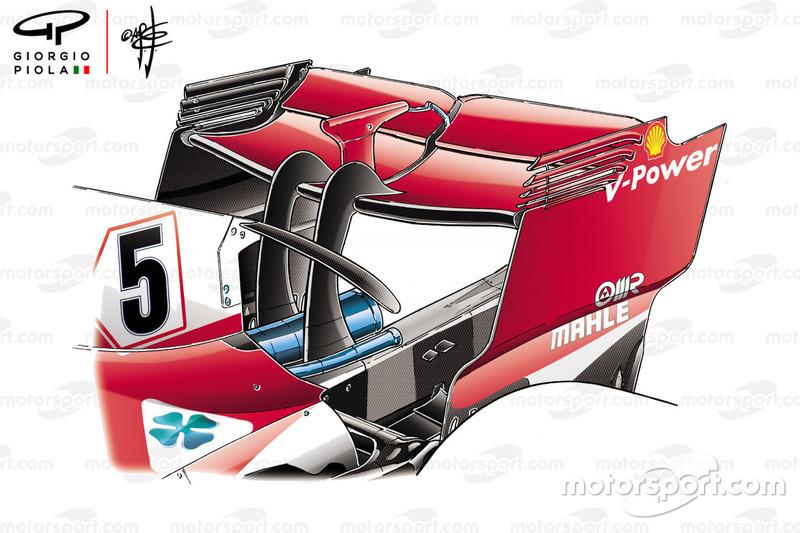 Заднє крило Ferrari SF71H