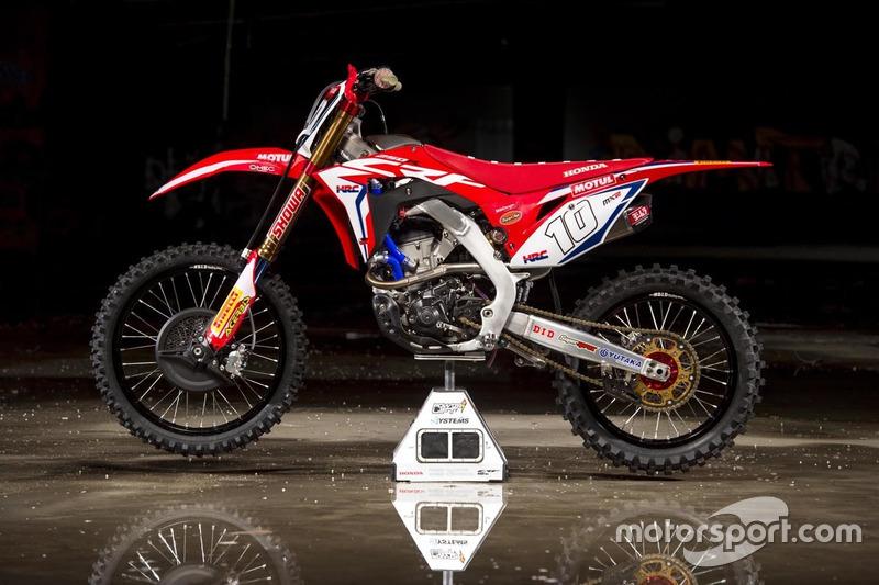 MX2: Motor Calvin Vlaanderen, Team HRC