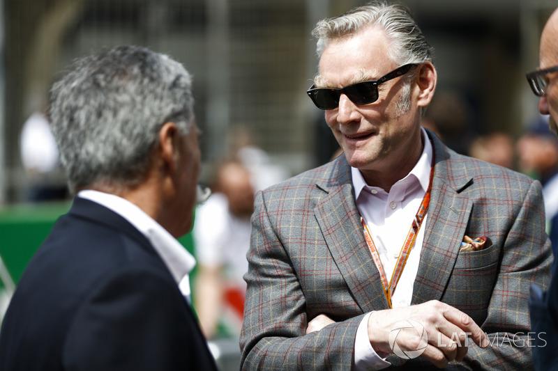 Sean Bratches, directeur des opérations commerciales du Formula One Group