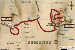 Етап 13: Сан-Хуан - Кордова