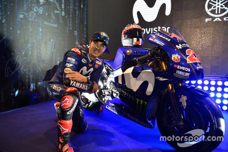 'Semakin Di Depan' pada motor Maverick Viñales, Yamaha Factory Racing