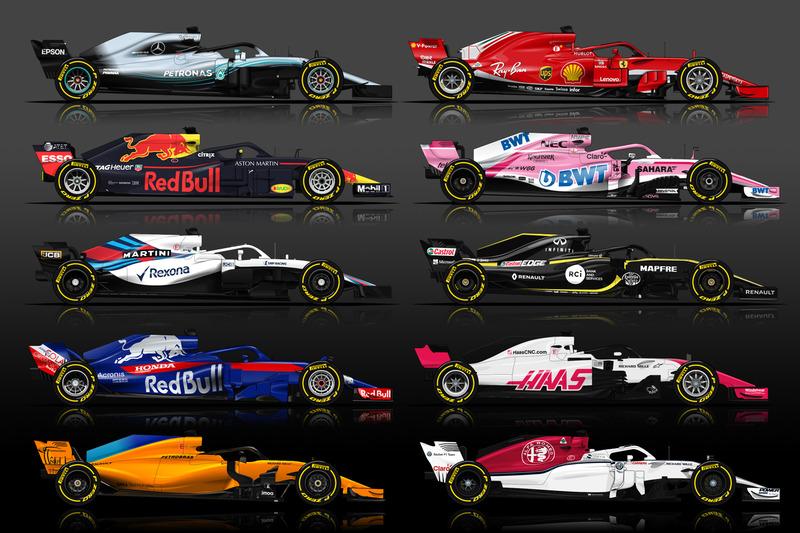 La F1 2018