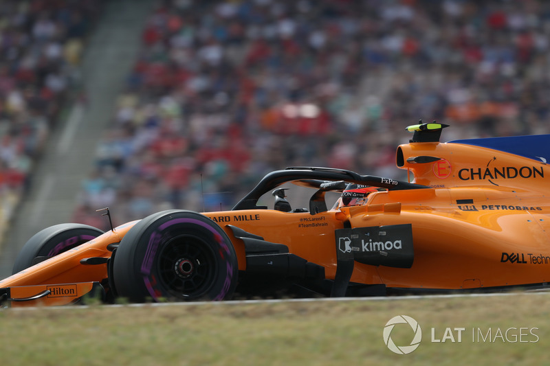18: Стоффель Вандорн, McLaren MCL33, 1'14.401