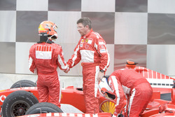 Michael Schumacher, Ferrari with Ross Brawn, Ferrari