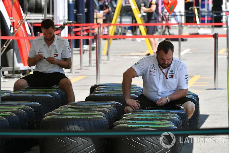Mercedes AMG F1 Mecánica y neumáticos Pirelli