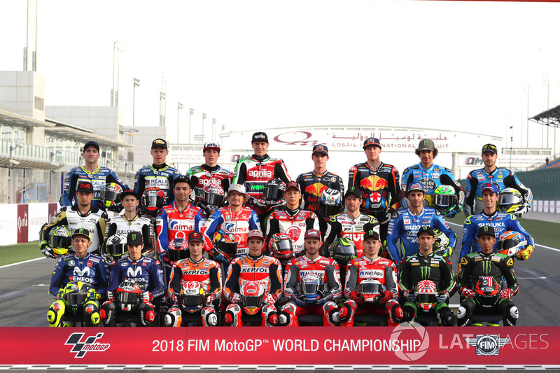 Para pembalap MotoGP 2018