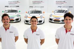 Vitor Baptista, Marcus Vario e Marcel Coletta