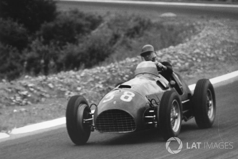 1950: Ferrari 166 (одно 13-е место)