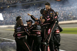 The crew of Austin Dillon, Richard Childress Racing Chevrolet Camaro are celebrating