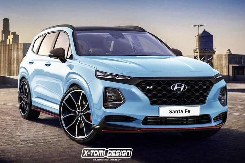 Autó N-változatban is remekül mutat a következő-generációs Hyundai Santa Fe
