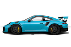 Porsche 911 GT2 RS in Miami Blue