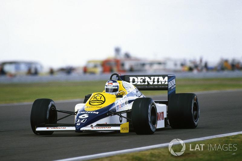 11. Кейо Росберг, Williams FW10, Гран При Великобритании-1985 (Сильверстоун): 1:05,591