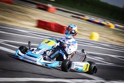 Daniel Ricciardo, Red Bull Racing, races a kart