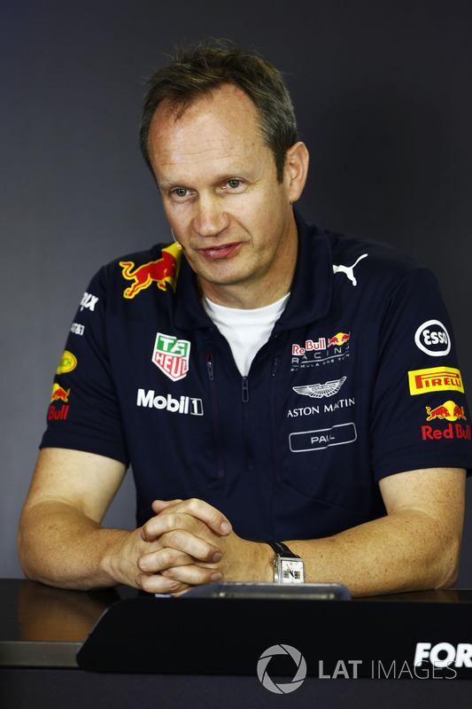 Paul Monaghan, Chief Engineer, Red Bull Racing,