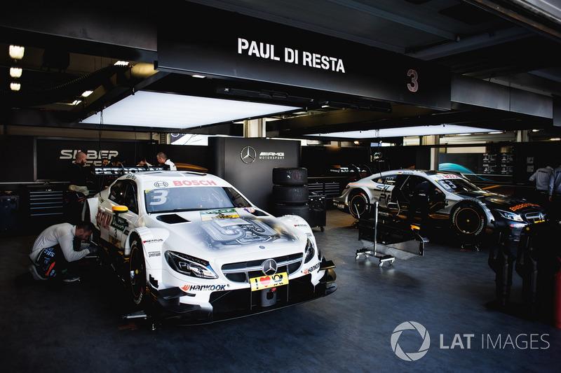 Машина Пола ді Рести, Mercedes-AMG Team HWA, Mercedes-AMG C63 DTM