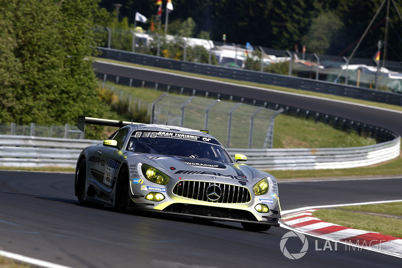 15. #50 Mercedes – AMG Team HTP Motorsport, Mercedes-AMG GT3