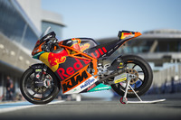 Bike of Brad Binder, Red Bull KTM Ajo