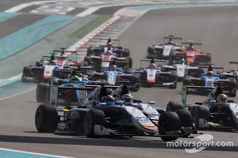 Steijn Schothorst, Campos Racing y Konstantin Tereshchenko, Campos Racing