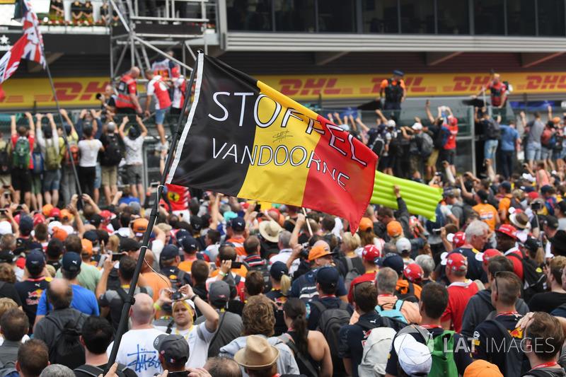 Фанати Стоффеля Вандорна, McLaren