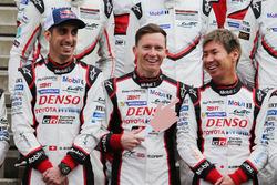 Sebastien Buemi, Mike Conway, Kamui Kobayashi, Toyota Gazoo Racing