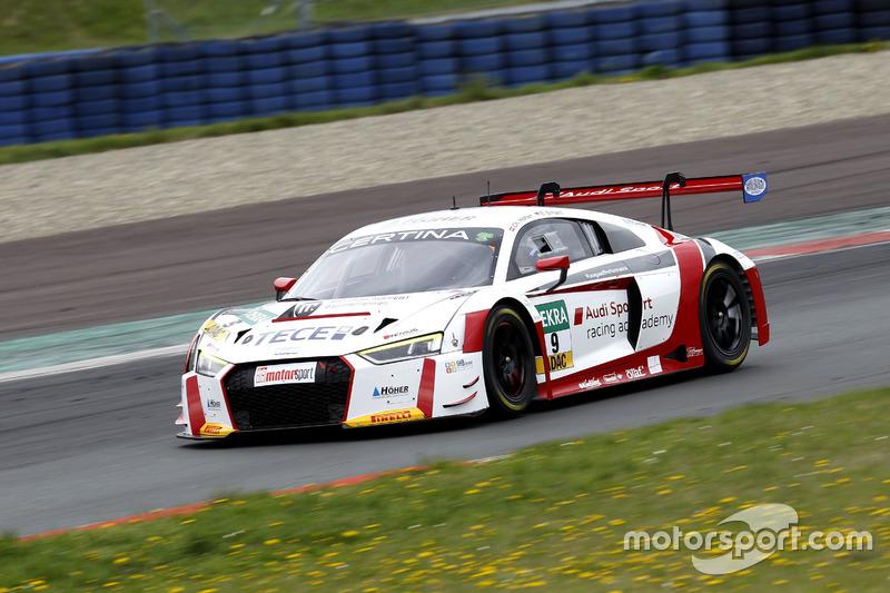 #9 Audi Sport racing academy, Audi R8 LMS: Elia Erhart, Christopher Höher