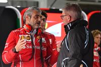 Maurizio Arrivabene, Ferrari Takım Patronu ve Ross Brawn, Formula One Motorsporları Direktörü