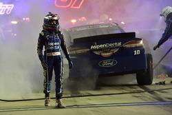 Danica Patrick, Stewart-Haas Racing Ford wrecks