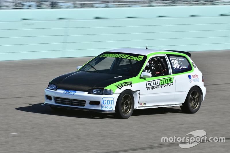 #30 MP4A Honda Civic driven by Cristian Morzan & Hernan Tortul of CVM Auto Racing Team