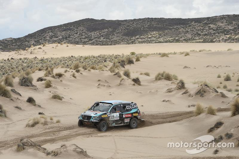 #329 Colcar Mercedes: Juan Silva, Sergio Lafuente
