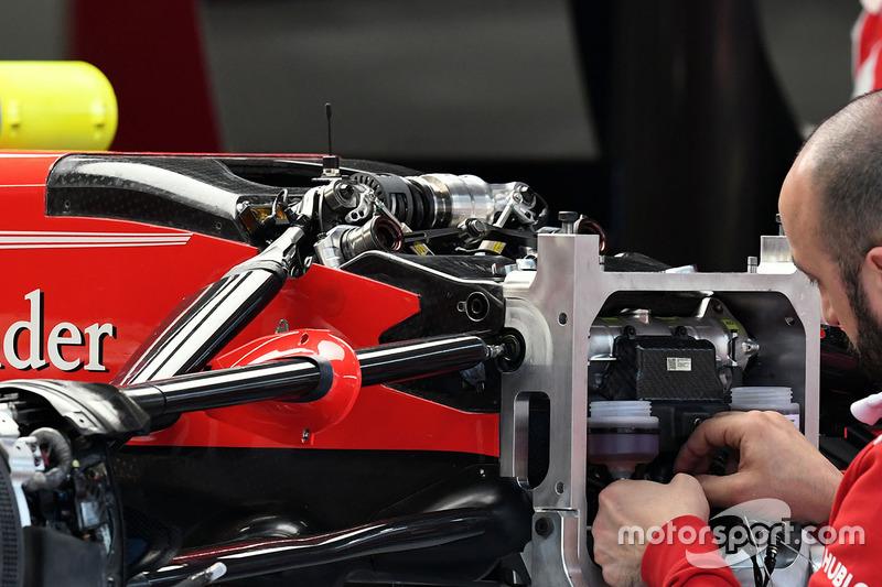 Ferrari SF70H, Front, Detail