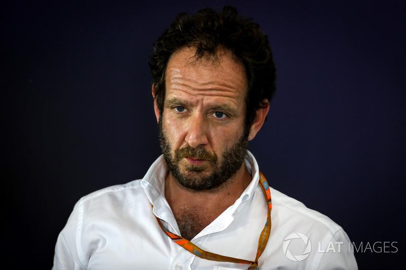 Matteo Bonciani, FIA-Pressesprecher