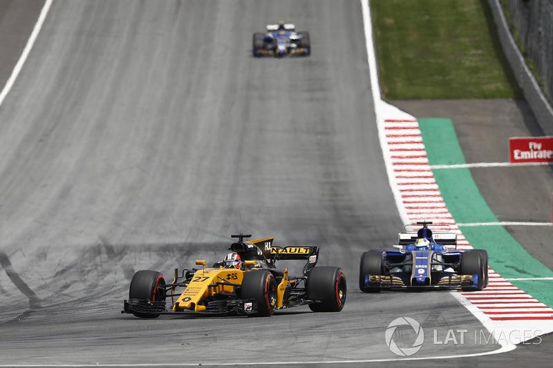 Ніко Хюлькенберг, Renault Sport F1 Team RS17, Маркус Ерікссон, Sauber C36