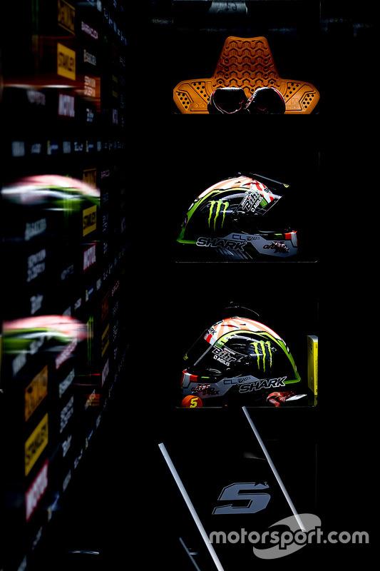 Cascos de Johann Zarco, Monster Yamaha Tech 3