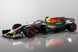 Aston Martin Red Bull Racing, rendering di fantasia della livrea