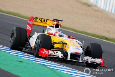 Jerez December testing