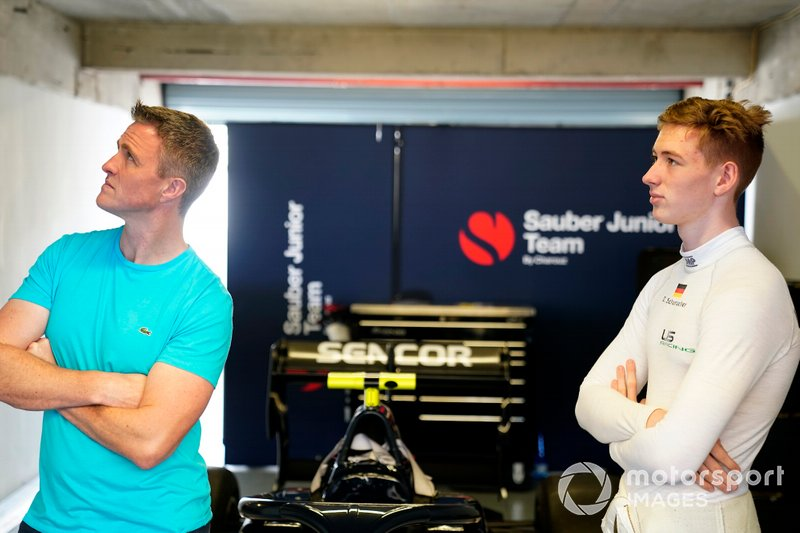 Ralf Schumacher and David Schumacher, Sauber Junior Team by Charouz