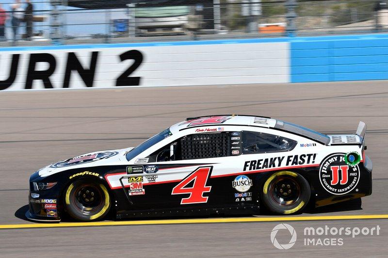 9. Kevin Harvick, Stewart-Haas Racing, Ford Mustang