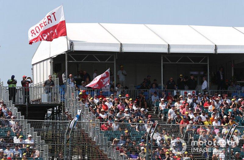 Fans de Robert Kubica, Williams Racing