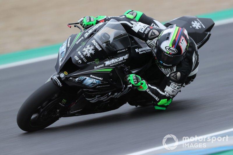 #91 Kawasaki Racing Team: Leon Haslam
